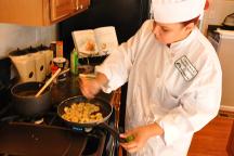 Brunswick Crossing Cooking demonstration