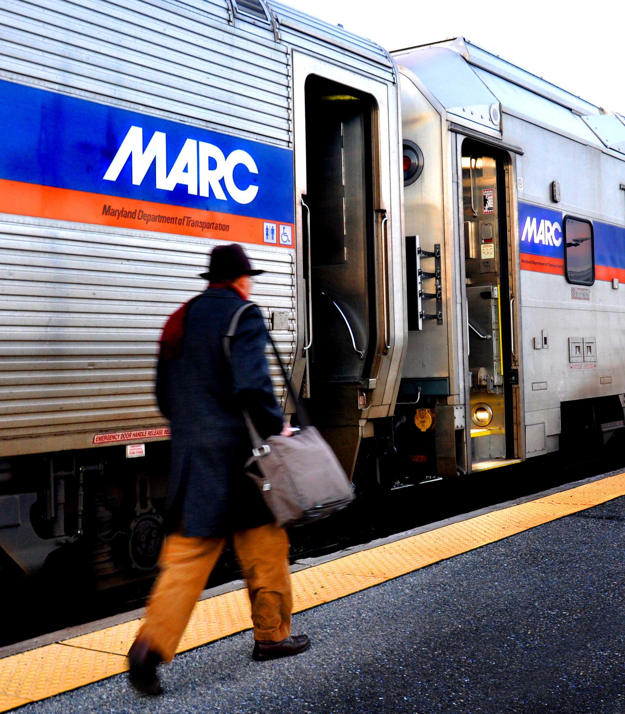 Brunswick Crossing New Homes are near the MARC Train to Washington DC Rockville Bethesda Maryland