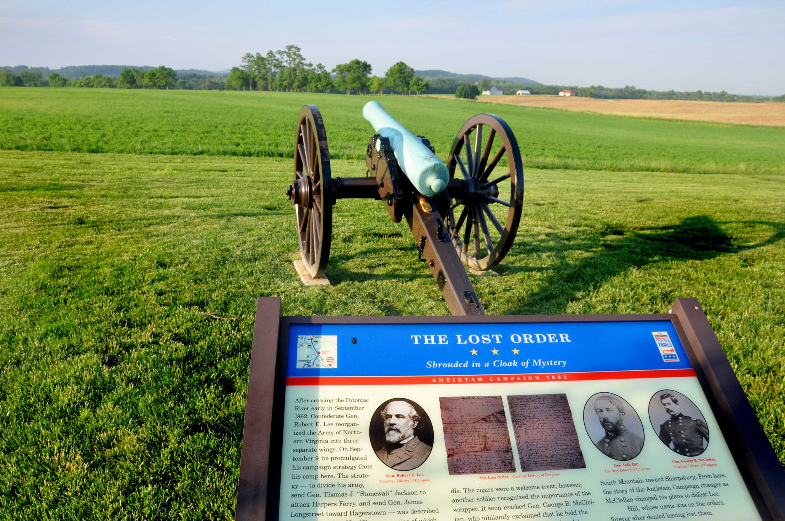 New Homes at Brunswick Crossing are surrounded by History and the Civil War