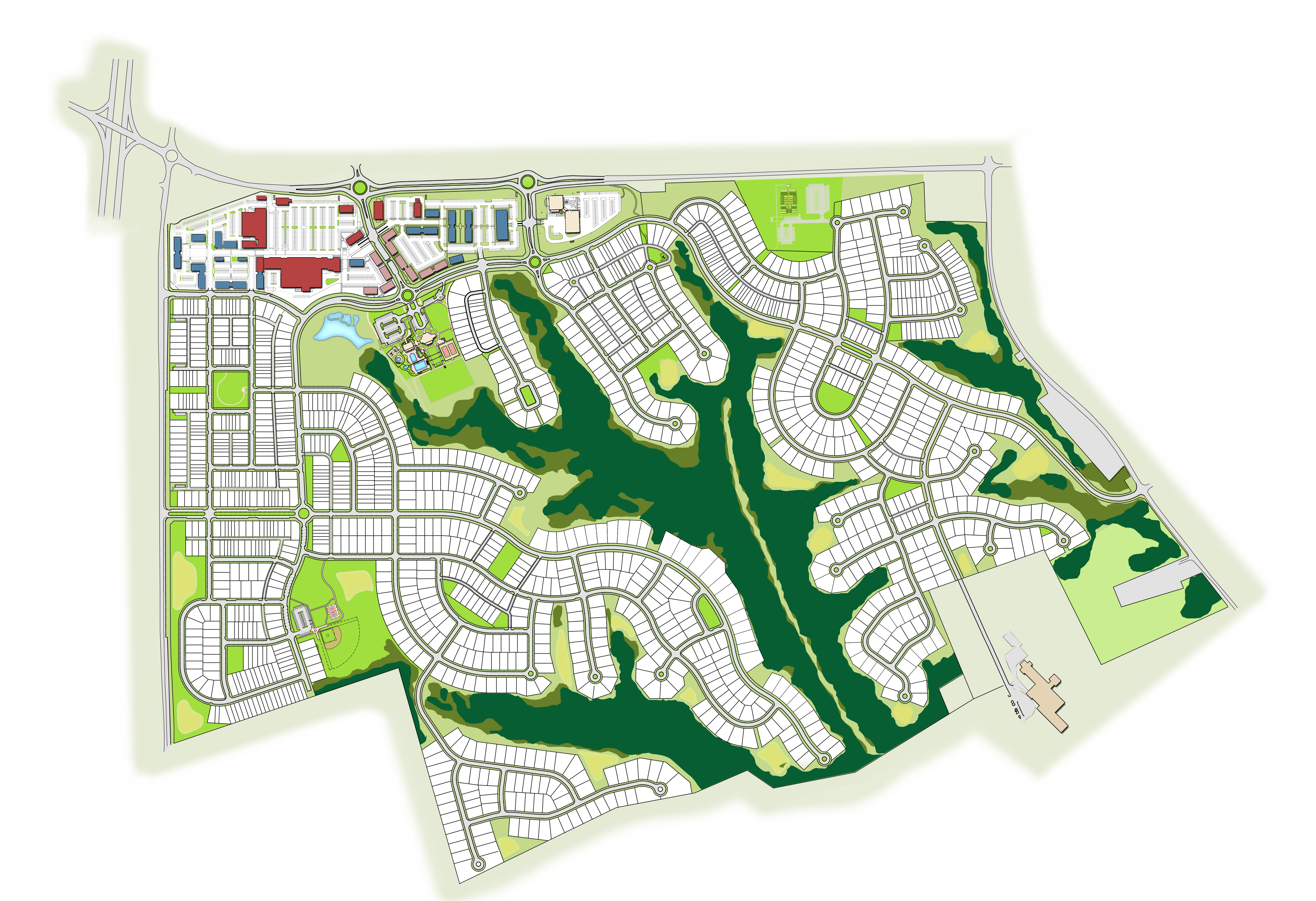 Available Lots in Brunswick Crossing